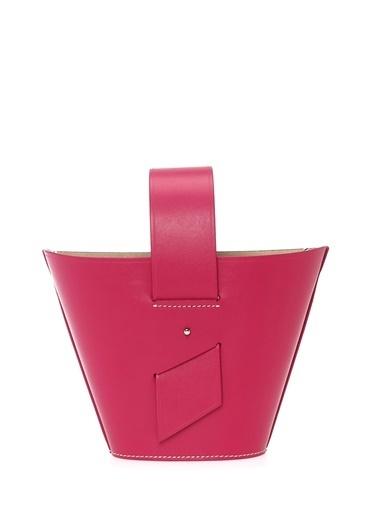 Domingo Carolina Santa Domingo Amphora Mini Fuşya Kadın Deri Omuz Çantası 101429436 Fuşya